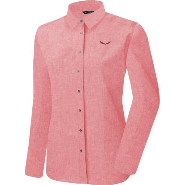 SALEWA Damen Hemd Fanes Linen W L/s Srt