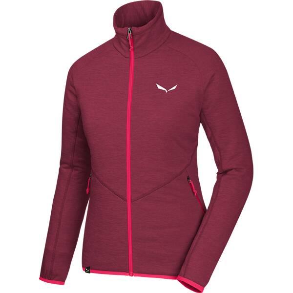 SALEWA Damen Unterjacke Puez Melange Pl W FZ | Bekleidung > Pullover > Pullunder | SALEWA