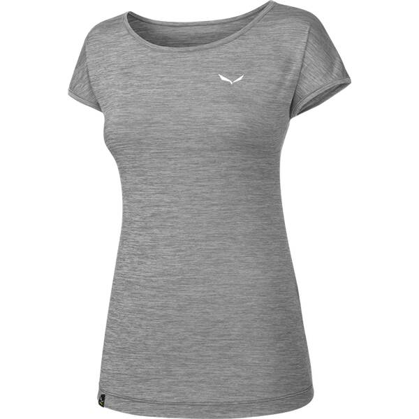 SALEWA Damen Shirt Puez Melange Dry W S/s TEE