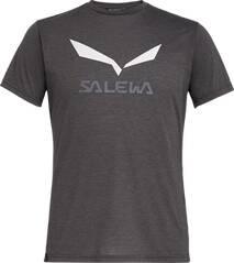SALEWA Herren Shirt SOLIDLOGO DRI-REL