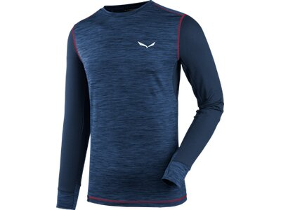 SALEWA Herren Shirt PEDROC HYBRID Blau