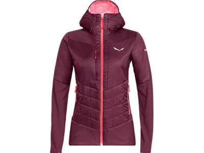 SALEWA Damen Funktionsjacke ORTLES HYBRID Rot
