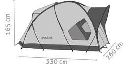 Vorschau: SALEWA Zelt Alpine Hut Iv Tent