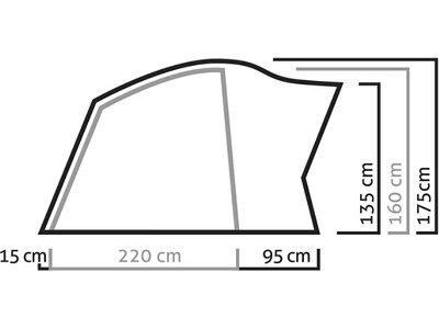 SALEWA Zelt Alpine Hut Iv Tent Grün