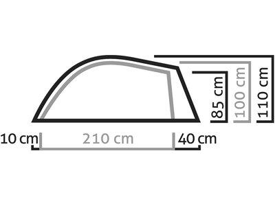 SALEWA Zelt Litetrek Ii Tent Grau