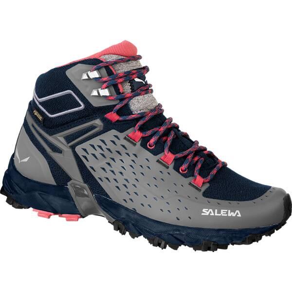 SALEWA Damen Bergschuhe WS ALPENROSE ULTRA MID GTX | Schuhe > Outdoorschuhe > Bergschuhe | Black - Red | SALEWA