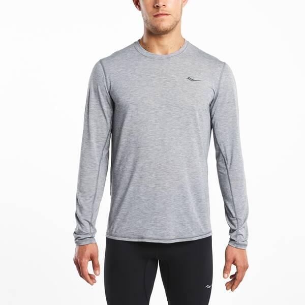 SAUCONY Herren T-Shirt FREEDOM V-NECK
