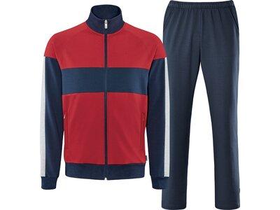 schneider sportswear Herren Basic-Anzug BRAYDENM Rot