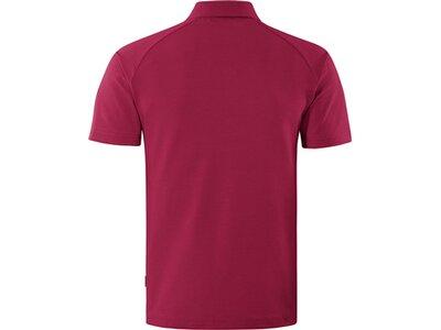 schneider sportswear Herren Basic Polo MORRISM Rot