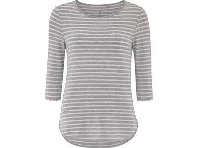 schneider sportswear Damen EDISONW-3/4-Shirt Grau