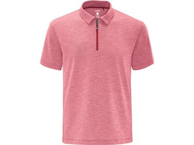 schneider sportswear Herren Funktions Polo MELM Pink