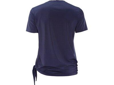 schneider sportswear Damen Fitness Shirt PEACHESW Blau