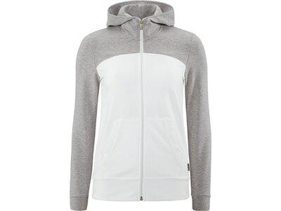 schneider sportswear Damen Basic Jacke SIMONAW Silber