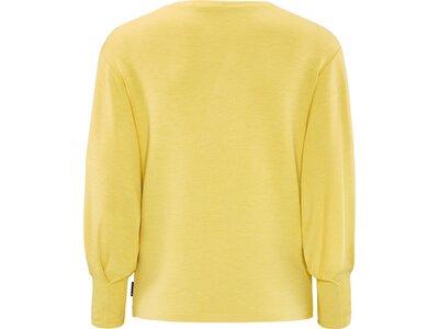 schneider sportswear Damen Fashion -Sweatshirt ISLAW-SWEATSHIRT Gelb