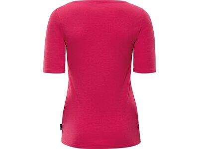 schneider sportswear Damen Leisure-1/2-Arm-Shirt DELILAHW Rot