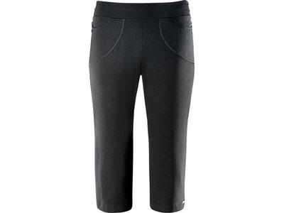 schneider sportswear Damen Fitness-3/4-Hose WIENW-3/4-Hose Schwarz