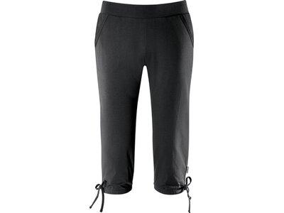 schneider sportswear Damen Wohlfühl-3/4-Hose AURORAW-3/4-Hose Schwarz