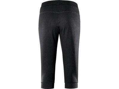 schneider sportswear Damen Fitness 3/4 Hose VENTURAW Schwarz