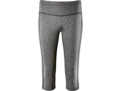 schneider sportswear Damen Fitness-3/4-Tight MELBOURNEW Grau