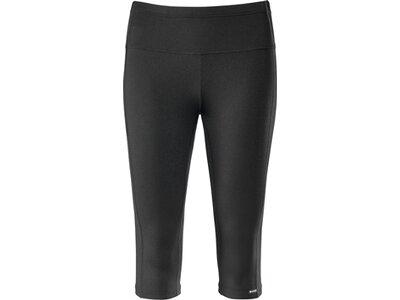 schneider sportswear Damen Fitness 3/4 Hose ABERDEENW Schwarz
