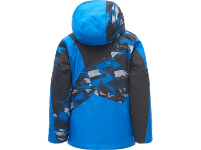 SPYDER Kinder Skijacke BOY'S LEADER Blau