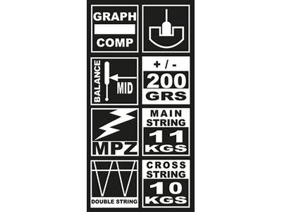 UNSQUASHABLE Squash-Schläger DSP 806 Grau
