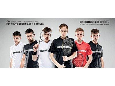 UNSQUASHABLE Squash-Schläger Inspire T-2000 Grau