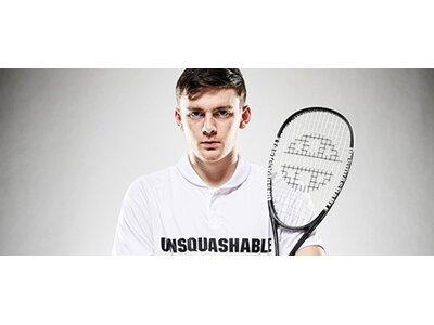Unsquashable Squashschläger Inspire Y-4000 Grau