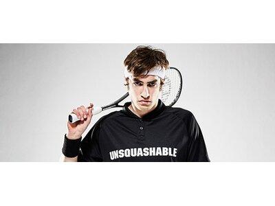 Unsquashable Squashschläger Inspire Y-8000 Grau
