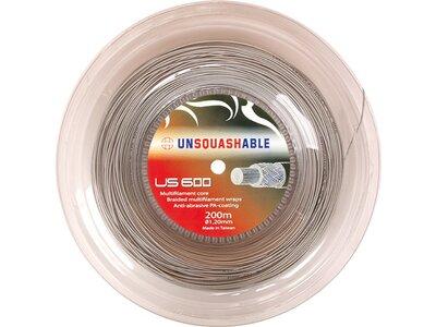 Unsquashable Squashsaite US 600 - 200m Rolle, 1,20 mm Rot