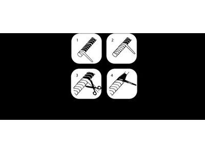 UNSQUASHABLE Griffband AIR PRO GRIP im Einzelblister Schwarz