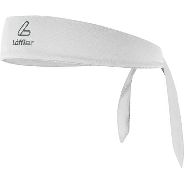 LÖFFLER  Binde-stirnband Mesh | Accessoires > Mützen > Stirnbänder | Weiss | LÖFFLER