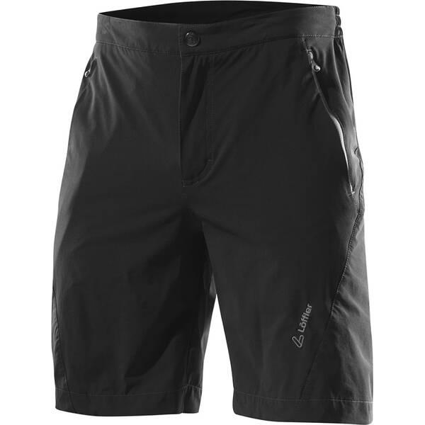 LÖFFLER Herren Bike Shorts Comfort Csl Schwarz