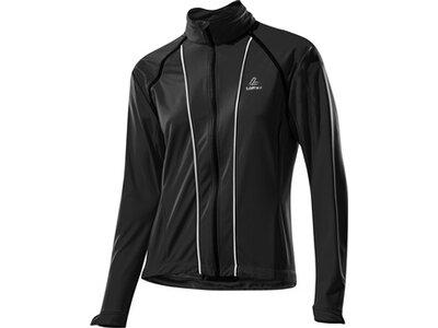 LÖFFLER Damen Funktionsjacke Bike Zip-off Jacke San Remo Ws Softshell Light Grau