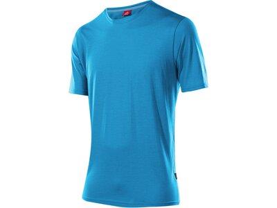 LÖFFLER Herren Shirt Transtex® Single Cf Blau
