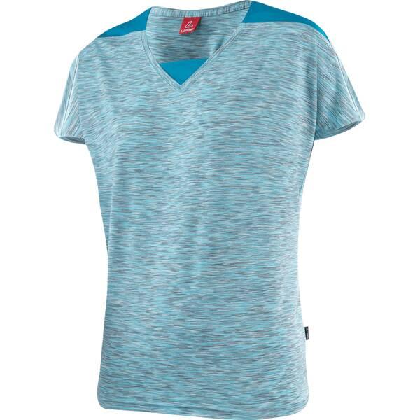 LÖFFLER Damen V-shirt Rainbow