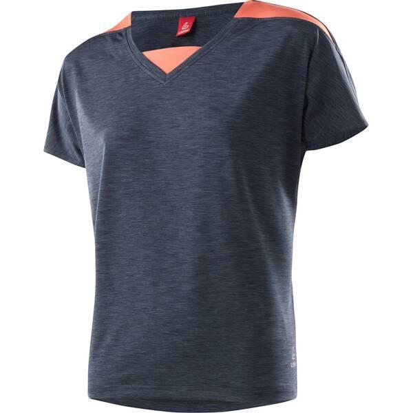 LÖFFLER Damen Radshirt V-Shirt Rainbow CF Kurzarm