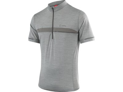 LÖFFLER Herren Bike Shirt Merino Hz Grau