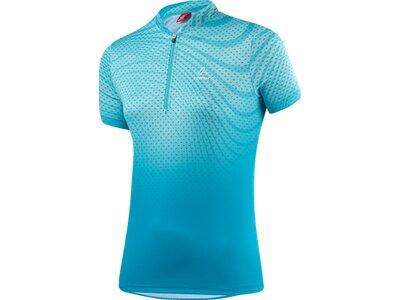LÖFFLER Damen Bike Shirt Java Hz Blau
