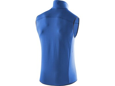 LÖFFLER Herren Weste Stretchfleece Blau