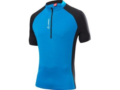 LÖFFLER Herren Bike Shirt Rocky Hz Blau
