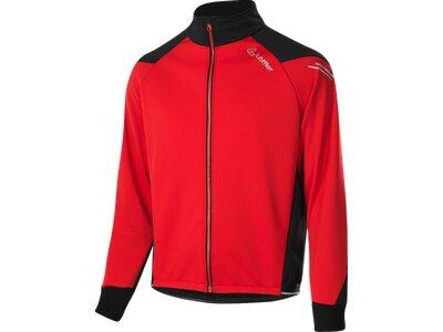 Löffler Bike Jacke Bologna WS Warm Herren Rot