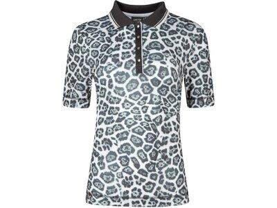 CANYON Damen Polo Poloshirt 1/2 Arm Silber