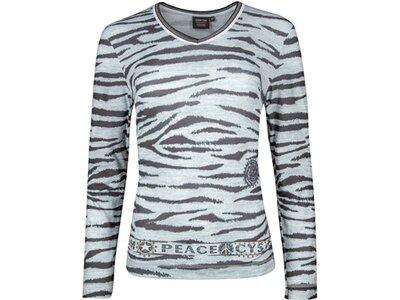 CANYON Damen Shirt T-Shirt 1/1 Arm Silber