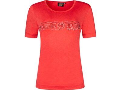 CANYON Damen T-Shirt 1/2 Arm Rot