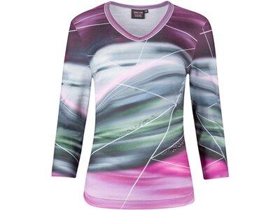 CANYON Damen Shirt T-Shirt 3/4 Arm Silber