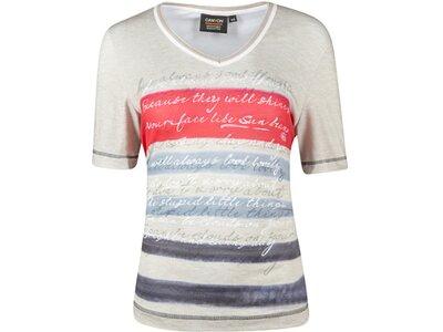 CANYON Damen Shirt T-Shirt 1/2 Arm Grau