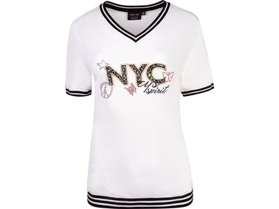 CANYON Damen Shirt T-Shirt 1/2 Arm Weiß