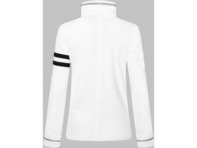 CANYON Damen Funktionsjacke Sweatjacke Weiß