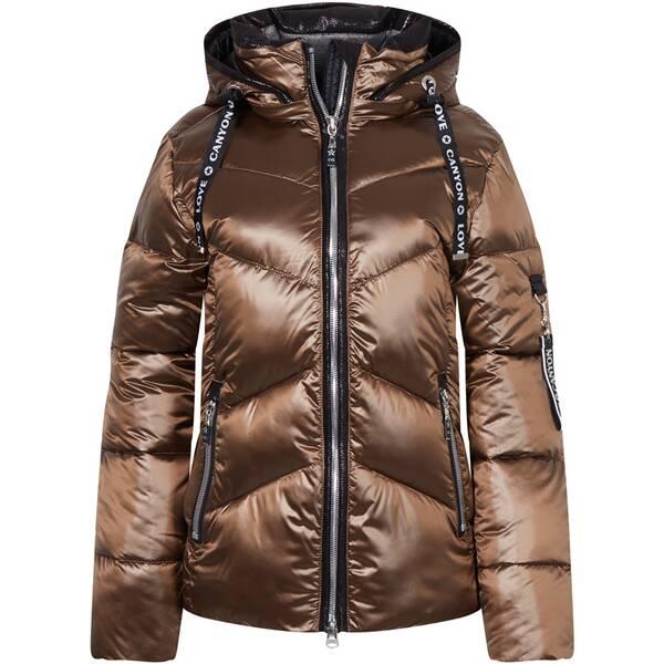 CANYON Damen Mantel Jacke, wattiert